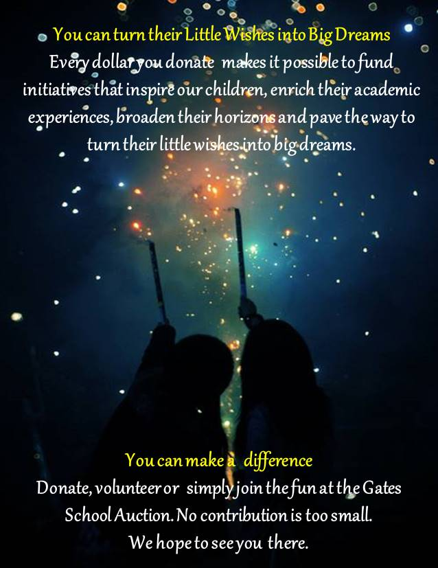 You can turn their Little Wishes into Big Dreams Every dollar you donate counts towards our fundraising goals. Every helping hand makes it possible to fund initiatives that inspire our children, enrich their academic experiences,  broaden their horizons and pave the way  to turn their little wishes into big dreams