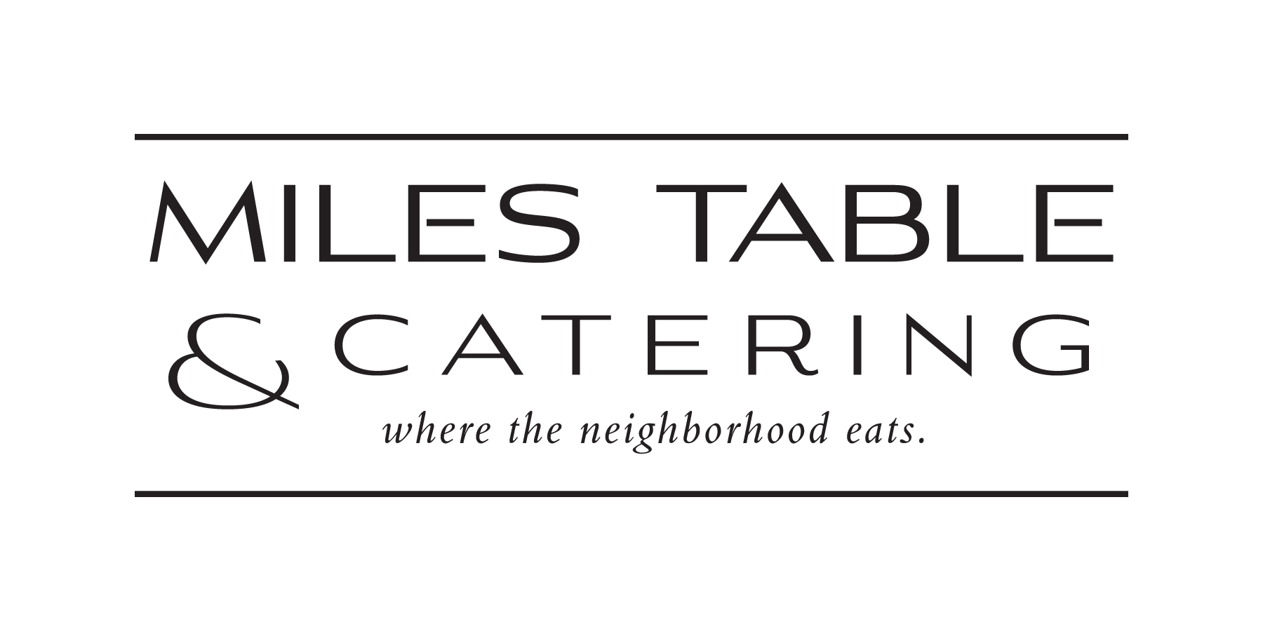 Miles Table & Catering