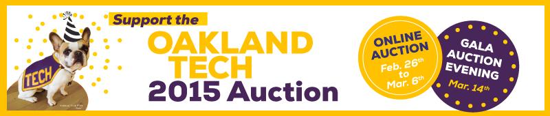 2015 Oakland Tech Auction